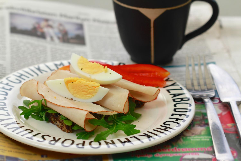 Kyllingemad med æg