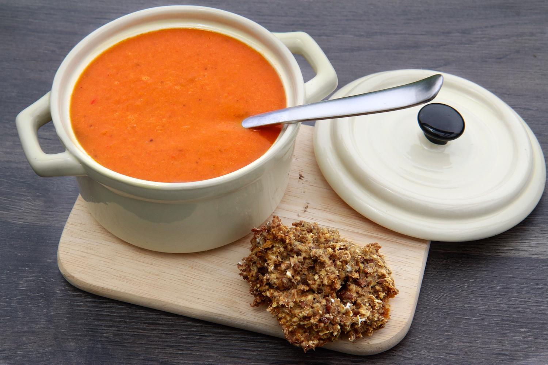 Urtesuppe med chiliolie / Laktosefri